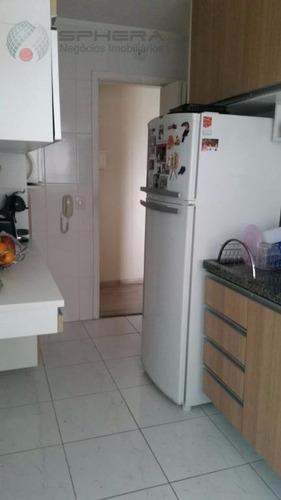 apartamento  residencial à venda, casa verde, são paulo. - ap0127