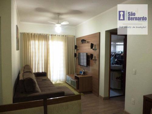 apartamento  residencial à venda, catharina zanaga, americana. - ap0587