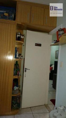 apartamento residencial à venda, centro, americana. - ap0379