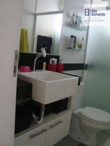 apartamento residencial à venda, centro, americana. - ap0392