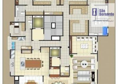 apartamento  residencial à venda, centro, americana. - co0012
