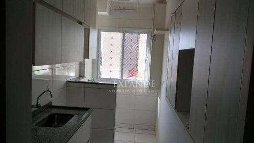 apartamento residencial à venda, centro, bauru. - ap0254