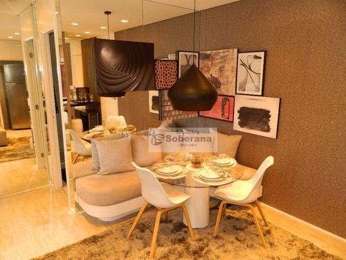 apartamento residencial à venda, centro, campinas. - ap4917