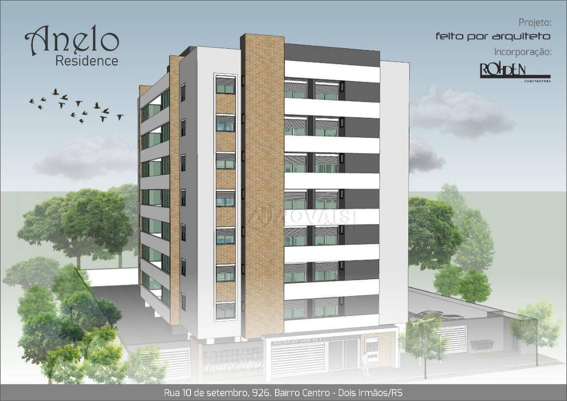 apartamento residencial à venda, centro, dois irmãos. - ap2088