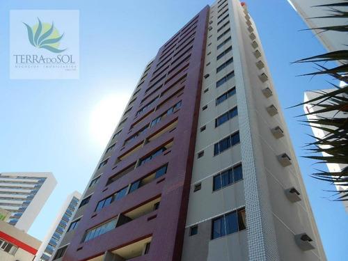 apartamento residencial à venda, centro, fortaleza. - ap0577