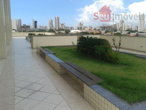 apartamento  residencial à venda, centro, fortaleza. - ap0593