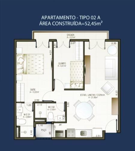 apartamento residencial à venda, centro, guaramiranga. - ap0723