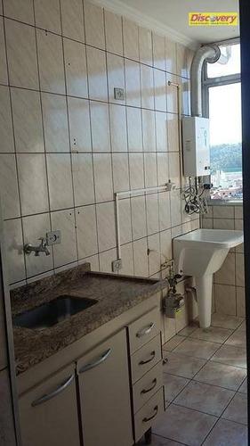 apartamento residencial à venda, centro, guarulhos. - ap0448