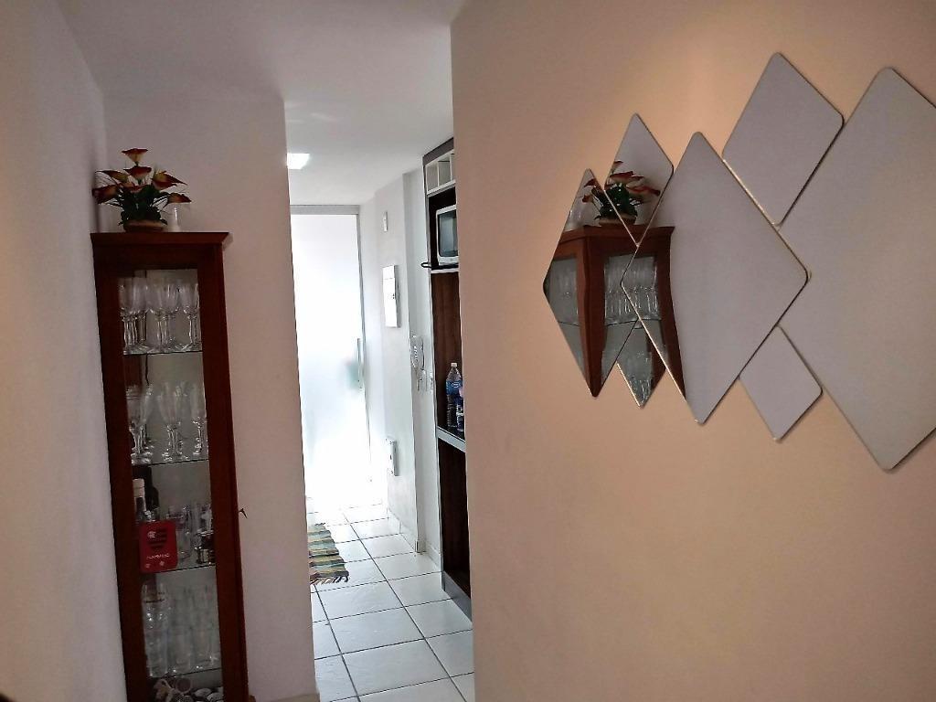 apartamento residencial à venda, centro, niterói. - ap1404