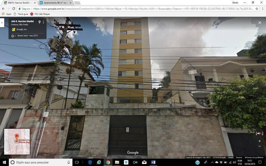 apartamento residencial à venda, centro, osasco - ap0257. - ap0257
