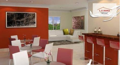 apartamento residencial à venda, centro, osasco. - ap1806