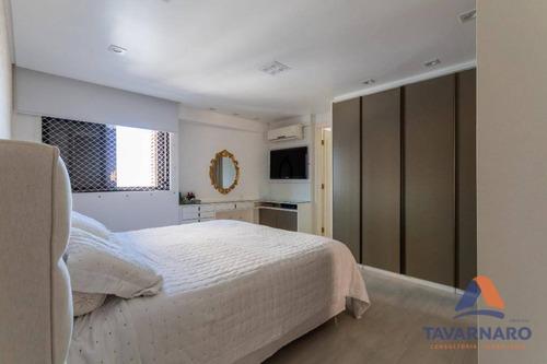 apartamento residencial à venda, centro, ponta grossa. - ap0669