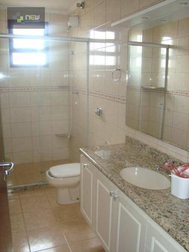apartamento  residencial à venda, centro, ribeirão preto. - ap0176