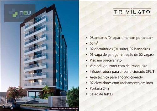 apartamento residencial à venda, centro, ribeirão preto. - ap0810