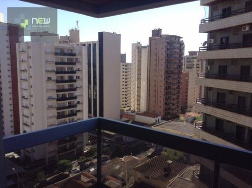 apartamento residencial à venda, centro, ribeirão preto. - ap0843