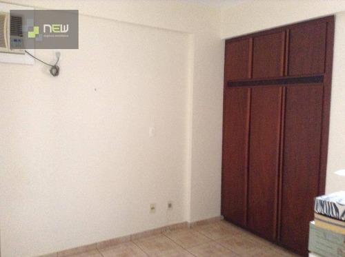 apartamento residencial à venda, centro, ribeirão preto. - ap0888