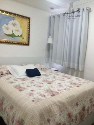 apartamento  residencial à venda, centro, santo andré. - ap0494