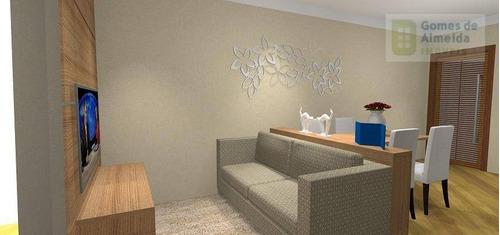 apartamento residencial à venda, centro, santo andré. - codigo: ap2763 - ap2763