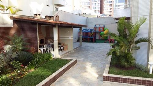 apartamento residencial à venda, centro, são bernardo do campo. - ap0121