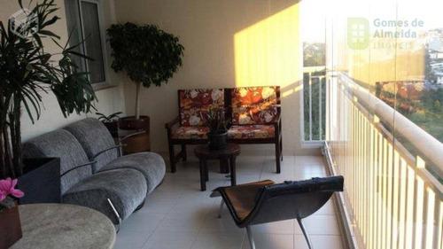 apartamento residencial à venda, centro, são bernardo do campo - ap0553. - ap0553