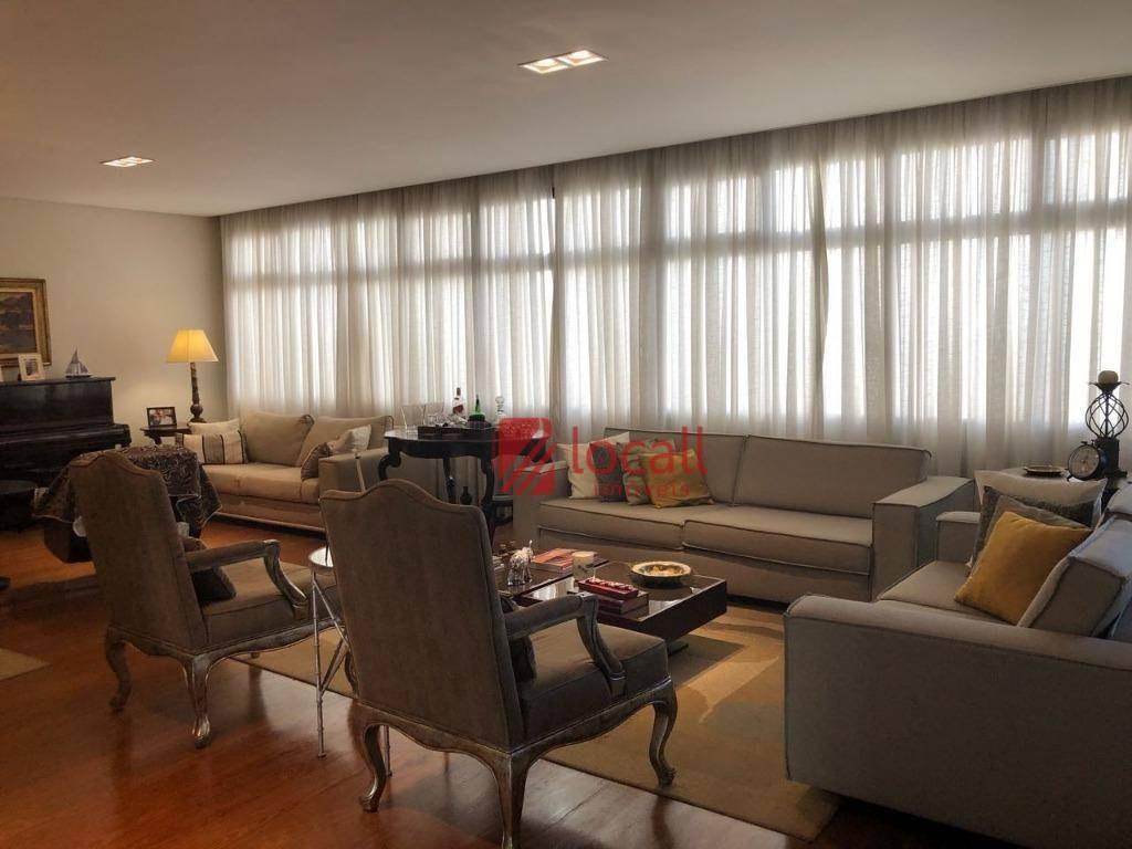 apartamento residencial à venda, centro, são josé do rio preto. - ap1259