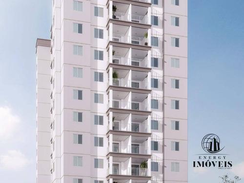 apartamento residencial à venda, centro, são paulo. - ap1118