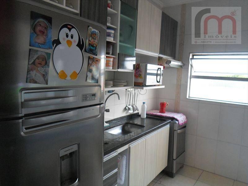 apartamento residencial à venda, centro, são vicente - ap0548. - ap0548