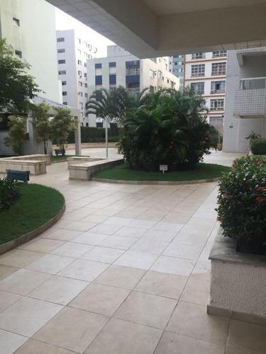 apartamento residencial à venda, centro, são vicente. - ap6211