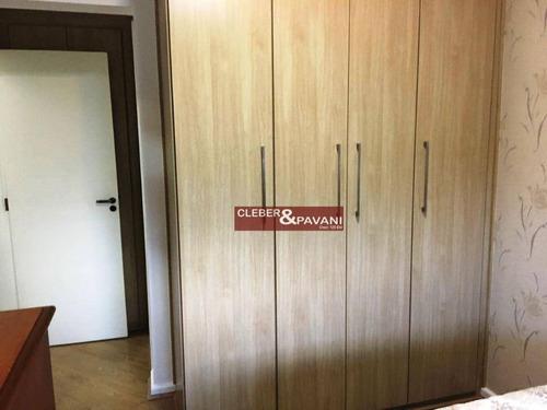 apartamento residencial à venda, centro, sorocaba. - ap0256