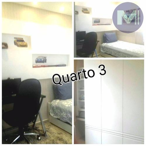 apartamento residencial à venda, centro, sorocaba - ap0415. - ap0415