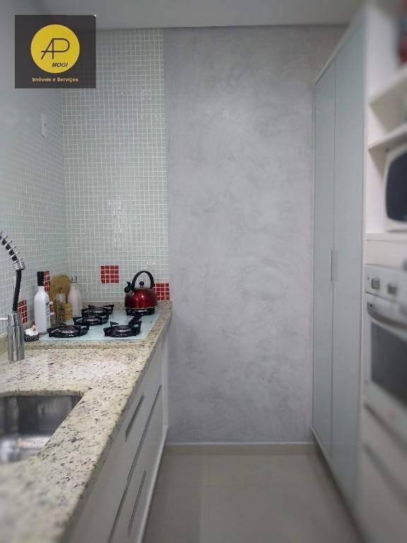 apartamento residencial à venda, cézar de souza, mogi das cruzes. - ap0130