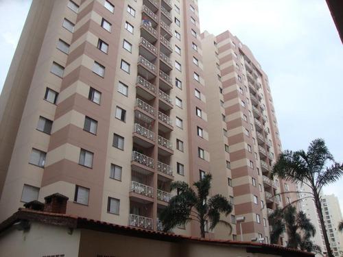 apartamento residencial à venda, chácara califórnia, são paulo. - ap8183