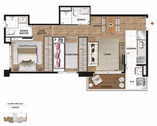 apartamento residencial à venda, chácara klabin, são paulo. - ap0500
