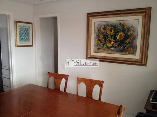 apartamento residencial à venda, chácara primavera, campinas. - ap0036