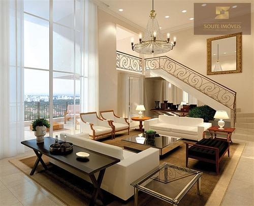 apartamento residencial à venda, chácara santo antônio (zona leste), são paulo. - codigo: ap2156 - ap2156