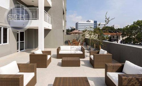 apartamento residencial à venda, chácara santo antônio (zona sul), são paulo. - ap0331