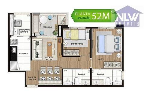apartamento residencial à venda, chácara santo antônio (zona sul), são paulo. - ap0408