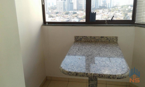 apartamento residencial à venda, chácara santo antônio (zona sul), são paulo - ap12095. - ap12095