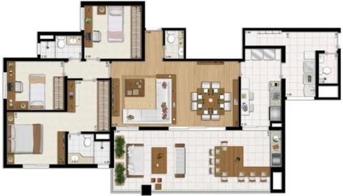 apartamento residencial à venda, chácara santo antônio (zona sul), são paulo - ap1932. - ap1932