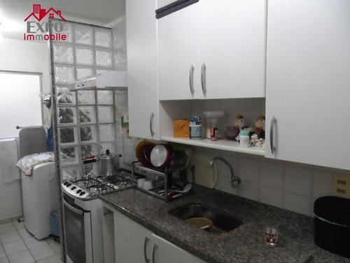 apartamento residencial à venda, chácaras campos elíseos, campinas. - ap0309