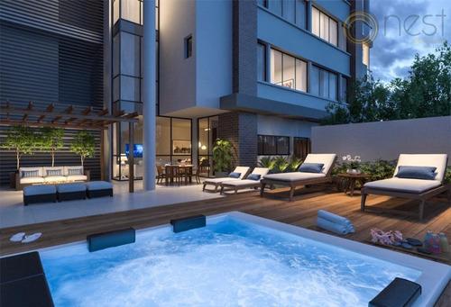 apartamento  residencial à venda, champagnat, curitiba. - ap0430
