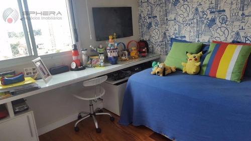 apartamento residencial à venda, chora menino, são paulo. - ap0408
