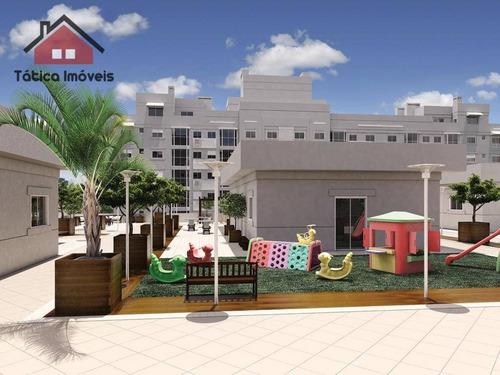 apartamento  residencial à venda, cidade industrial, curitiba. - ap0033