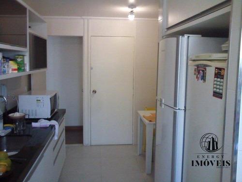 apartamento residencial à venda, cidade monções, são paulo. - ap0077