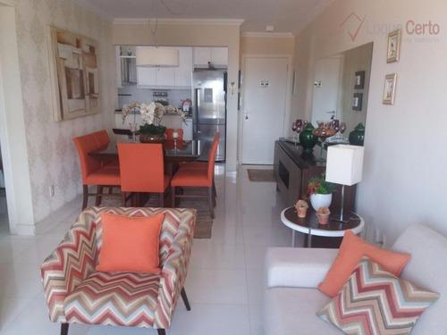 apartamento residencial à venda, cidade nova i, indaiatuba. - ap0195