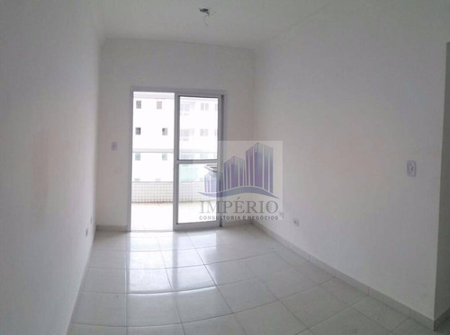 apartamento  residencial à venda, cidade ocian, praia grande. - ap0001