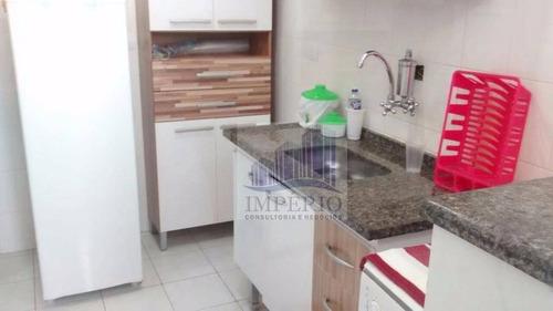 apartamento  residencial à venda, cidade ocian, praia grande. - ap0003