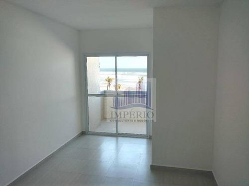 apartamento  residencial à venda, cidade ocian, praia grande. - ap0032