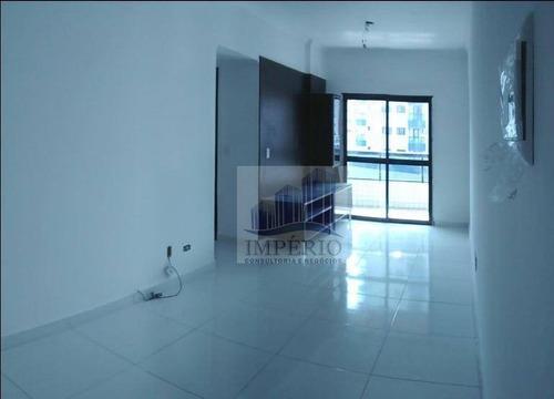 apartamento  residencial à venda, cidade ocian, praia grande. - ap0040