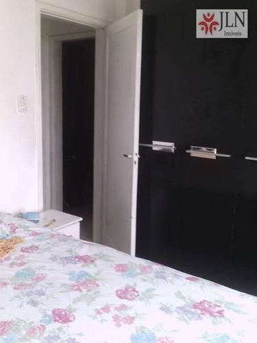 apartamento  residencial à venda, cidade ocian, praia grande. - ap0070